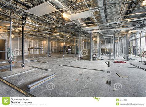 Interior Site Interior Construction Site Royalty Free Stock Photo