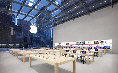 Office Supplies West Side Nyc The Next Apple Store A Glass Roofed Pcworld