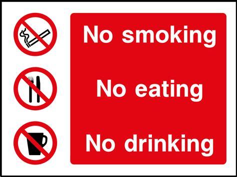 bar equipment no smoking signs adhesive no smoking no smoking no eating no drinking sign health and safety