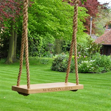 the swing company the oak and rope company large swing the oak and rope