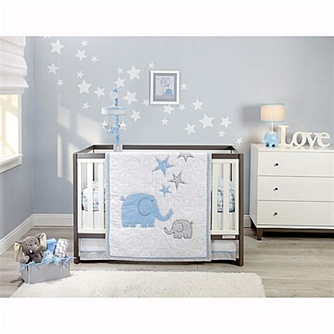 Zutano 174 Elefant Blau Crib Bedding Collection Www Zutano Crib Bedding