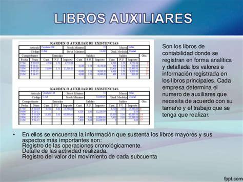 libro 13 table libros contables los libros contables