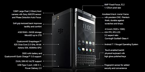 Limited Editions New Black optiemus launches the new blackberry keyone limited edition black smartphone bbin