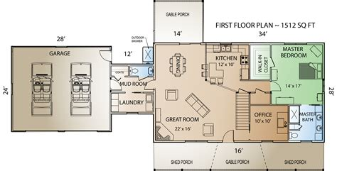 mountain view floor plans mountain view home plan by countrymark log homes