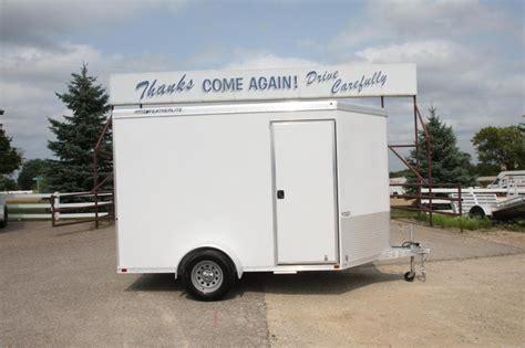 2012 Featherlite 1610 10 Enclosed Cargo Trailer