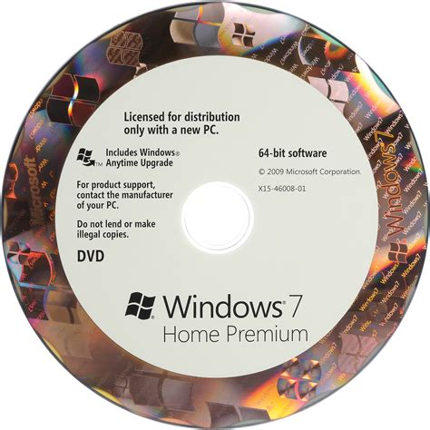 Windows Dvd 7 Original microsoft windows 7 home premium 64 bit oem dvd gfc 00599