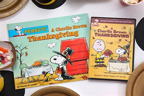 a charlie brown thanksgiving book read aloud charlie brown thanksgiving read aloud and movie party