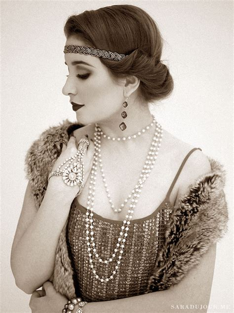 show roaring twenties hairstyles a 1920s gatsby christmas party sara du jour