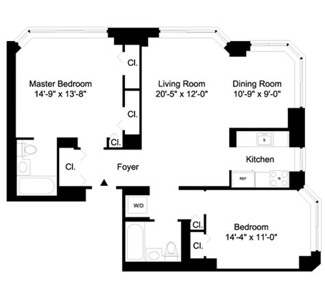 manhattan plaza apartments floor plans 10 liberty street rentals liberty plaza apartments for