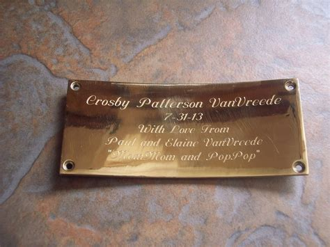 Custom Engraved Plaque (Metal Work) by Daniel Mcquestion