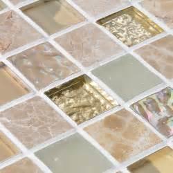 glass mirror tile backsplash glass blend