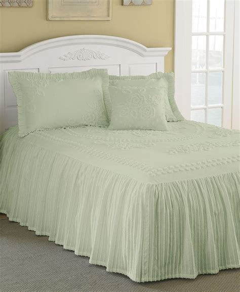 bed spread mary jane chenille tufted twin bedspread furniture