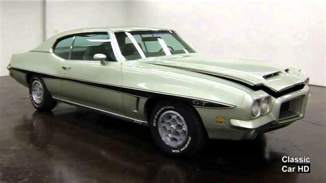 1972 pontiac lemans sport 1972 pontiac lemans sport gt classic car hd