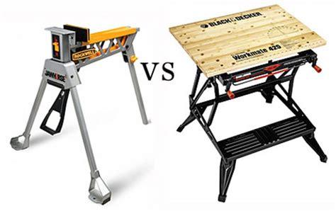 Black Decker Work Bench Jawhorse Vs Workmate Portable Workbench Showdown