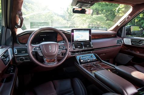 lincoln navigator 2017 interior 2018 lincoln navigator first drive review christening the
