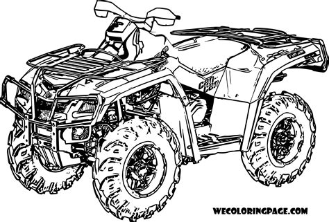 Coloring Pages Four Wheeler Four Wheeler Coloring Sheets Printable Pictures To Pin On