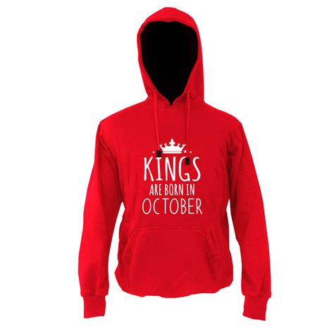 Topi Snapback King Born September hoodie merah king are born october indoclothing