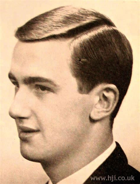 1960s hairstyles history in ireland 1961 men parting hairstyle hji