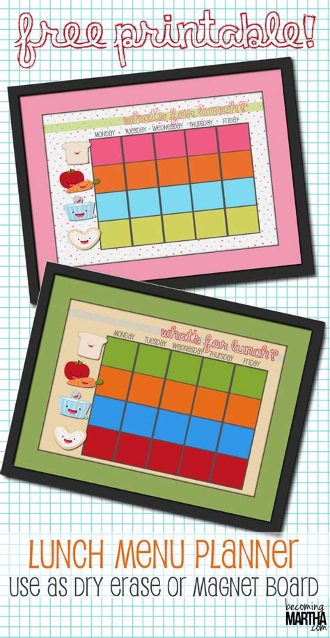 back to school lunch box planner organized 31 back to school printable lunch box planners notes jokes