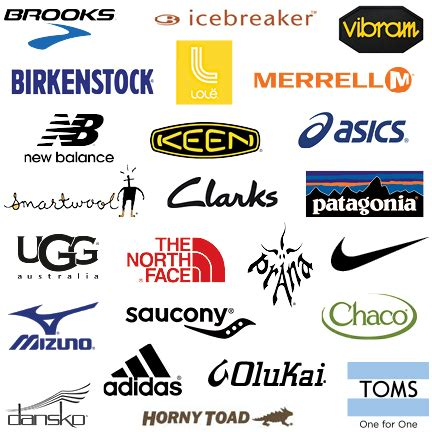 athletic shoes brands logos sport shoe companies 28 images 2015 running shoes