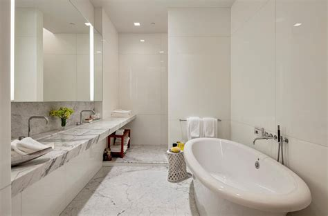 Marble Bathrooms Ideas 30 Marble Bathroom Design Ideas Styling Up Your Daily Rituals Freshome