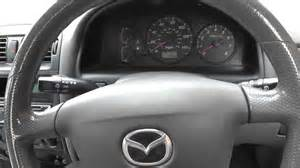 mazda 626 has no check engine or abs warning lights help