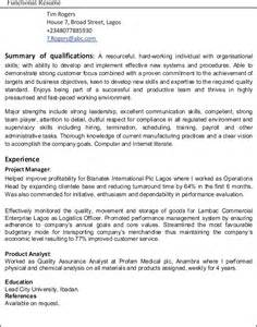 work experience resume template sle mcdonalds resume