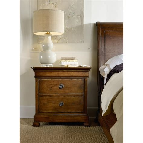 furniture archivist three drawer nightstand with