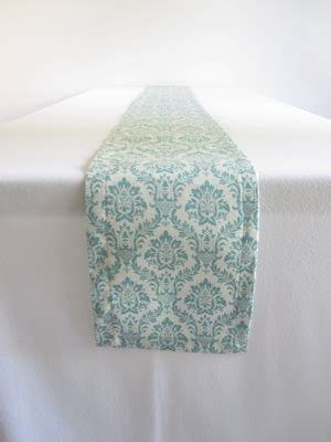 light teal table runner gynnell s check out some of the best diy wedding