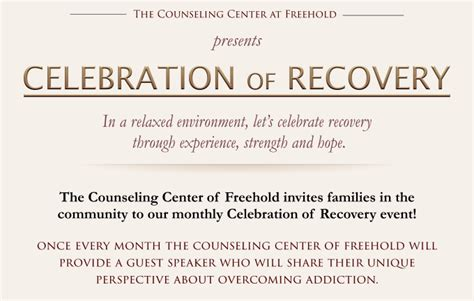 Inpatient Detox New Jersey by Celebration Of Recovery Tuesday June 24th 2014
