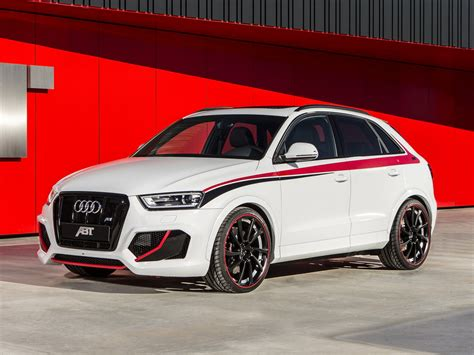 Audi Q3 Rs Abt by Abt Audi Rs Q3 Announced For Geneva Motor Show
