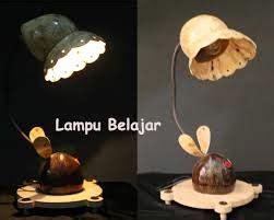cara membuat lu hias unik dari batok kelapa durian19artsblog cara membuat lu hias unik dari batok