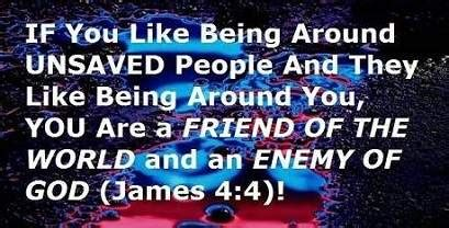 The Eternal Word Of Yah 142e1 enemies of god friend of the world eternal security