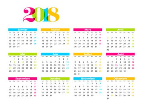Print Kalender 2018 Tahunan photos illustrations et vid 233 os de quot calendrier 2018 quot