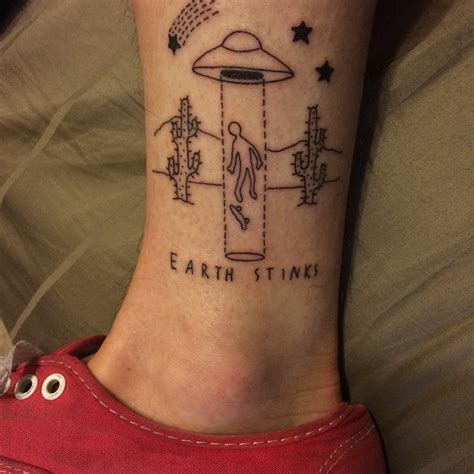 abduction on ankle pairodicetattoos com
