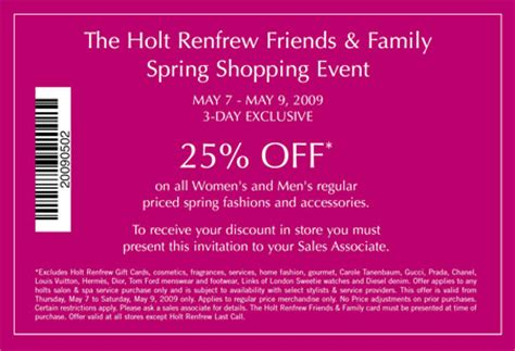 best photos of invitation sles for event event holt renfrew canada friends family spring shopping event