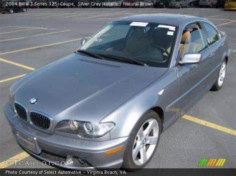 2004 bmw 325i interior silver grey metallic 2004 bmw 3 series 325i coupe