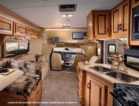 motor home interiors class c motorhome interiors with original pictures