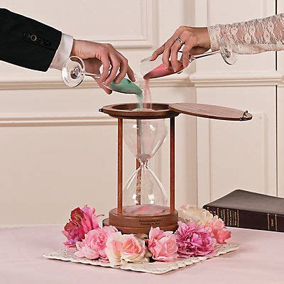 Wedding Ceremony Joining Ideas by The Joining Of Two Lives Is Symbolized By A Sand Ceremony