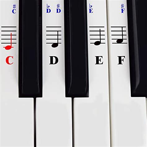 Yamaha Piano Sticker by Piano Stickers For 49 61 76 88 Key Keyboards