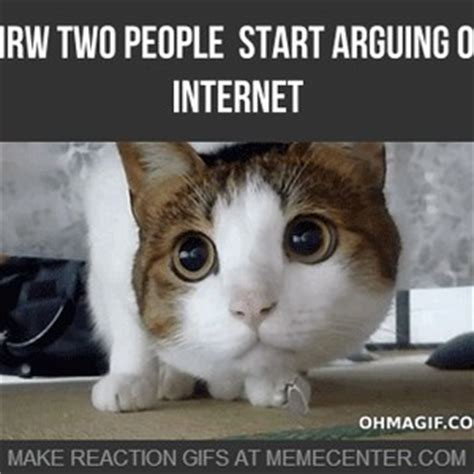 Arguing On The Internet Meme - when two people start arguing on internet by hadie azazel