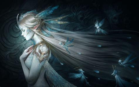 fairy queen artstation fairy queen marie magny