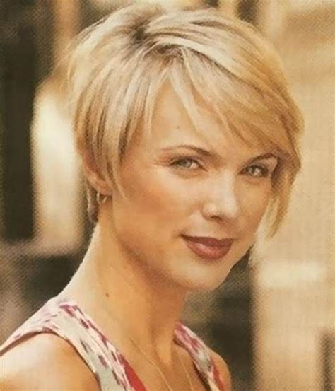 hairstyles for fine hair plus size over 50 short hairstyles and square faces on pinterest