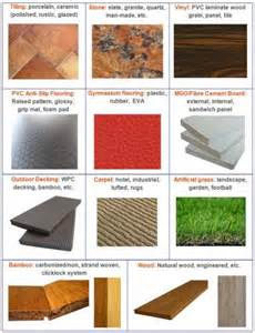 different types of flooring materials by amelia white