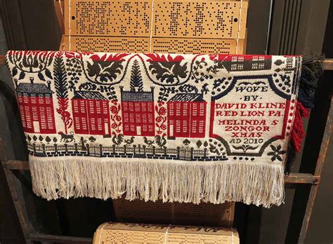 coverlet museum museum of the american coverlet bedford pa arthur taussig