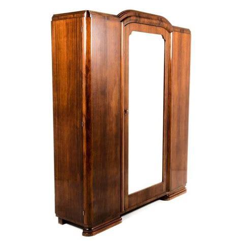 Deco Armoire by Antique Deco Three Door Armoire Circa 1930 At