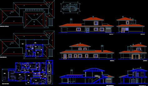 villa layout plans  autocad cad   kb