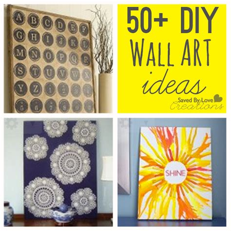 Diy Paintings For Home Decor by Over 50 Easy Wall Art Diy Ideas You Can Make