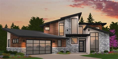modern masterpiece in a stock home plan