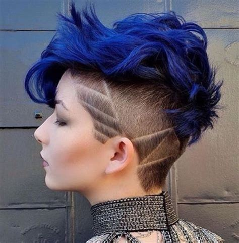 Blue Hairstyles by 8 Trendy 2 Tone Hairstyles With Bright Colors Hairstyles
